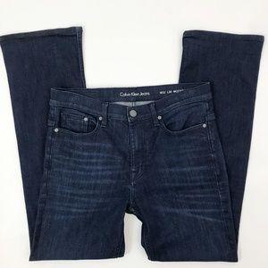 Calvin Klein Modern Boot Cut Jean 32